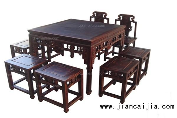 八仙桌尺寸规格与图片欣赏