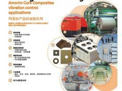 工业设备减震垫 软木减震垫