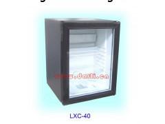 吸收式玻璃门冰箱