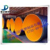 咸阳市政钢带波纹管厂家 埋地钢带增强HDPE波纹管