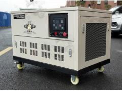 15kw汽油发电机技术参数及耗油量