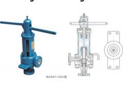 A49Y弹簧安全阀(脉冲式安全阀)产品剖解图