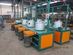 简单易操作水箱拉丝机厂家全自动粗丝拔丝机价格供应拔丝粉