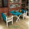 餐厅家具定制 主题餐厅餐桌椅 餐厅桌椅图片