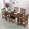 实木餐桌椅定制 实木桌椅图片 餐厅桌椅批发厂家