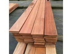 上海厂家定尺加工柳桉木板材,柳桉木防腐木木条方价格