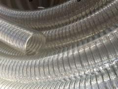 透明钢丝软管葡萄酒输送管内壁平滑管