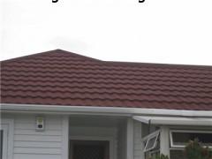 河北井陉金属瓦减弱暴雨对屋面的冲击力