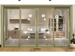 高档铝合金门窗品牌加盟康盈门窗厂家供应卧室推拉门