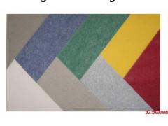 声筑绿色9mm聚酯纤维吸音板,隔音毡,幼儿园专用墙裙