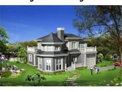 海联坚端集团轻钢别墅--新型轻钢 3D构造