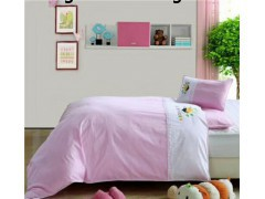 湖南长沙幼儿园被子厂家儿童卡通被套儿童床上用品定制哪家比较好