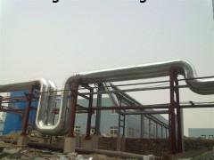 彩钢板热力管线外保温施工队 硅酸铝岩棉保温工程