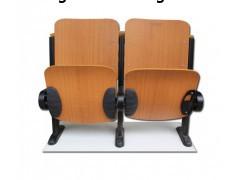 舒誉出售多层板报告厅座椅  固定连排桌椅