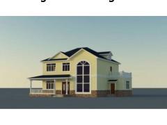 巴中轻钢别墅 钢结构房屋价格
