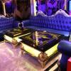 新款歐式玻璃鋼KTV茶幾酒吧發光桌臺
