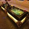 欧式玻璃钢KTV茶几酒吧发光台桌  工厂直销