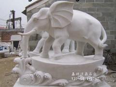 嘉祥汉鼎供应批发零售石雕大象、规格齐全 厂家直销