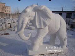 嘉祥汉鼎专业制作石雕大象、 厂家直销 一件也是批发价