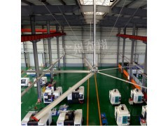 东莞工业大风扇,完美解决闷热的方案-广州奇翔