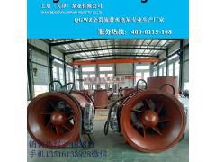 大型泵站斜拉式潜水轴流泵
