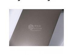 不銹鋼幕墻裝飾板材 真空電鍍不銹鋼鏡面噴砂黑香檳金 黃香檳金