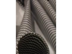 供应高温花纹管,蛇纹管,自熄管