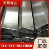 60*100*3.8毫米不锈钢矩形管316拉丝面烘干设备用管