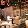 青山复古酒吧装修文化石背景墙仿古人造立体室内