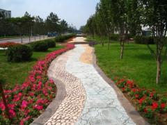阜陽壓花地坪材料廠家直供專業施工