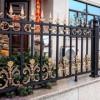 别墅庭院围墙栏杆 铝合金小区防盗围栏