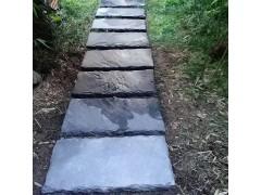 廬山熱銷汀步石 草坪水景方形 圓形步道石 路面文化石
