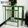 绿色仿竹子护栏围栏仿真竹篱笆假竹栅栏不锈钢管镀锌管材质