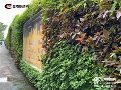 小区改造工程使用登峰广州环保绿植围挡立体绿化围蔽