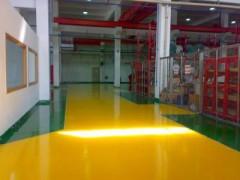膠州環氧工業地坪車間地面處理青島自流平施工