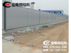登峰围挡应用案例分享广州小蛮腰塔下绿植围挡施工工程