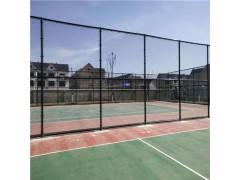 绿色包塑篮球场围网 河北足球场围网 网球场围网防护网