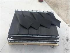 電廠擋塵簾導料槽擋塵簾250*6 耐磨擋塵簾阻燃擋塵簾