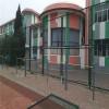 浸塑笼式足球场围网 绿色篮球场围网 网球场围网厂家