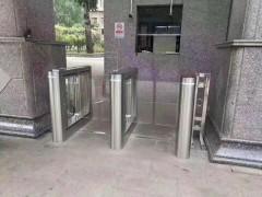 武漢不銹鋼擺閘  地鐵出入口擺閘