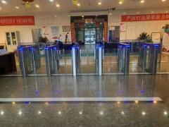 武漢防撞擺閘廠家 學校出入口速通門