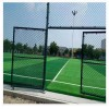 河北口字型球場圍網框架籃球場圍網浸塑體育場圍網