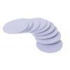 PVC圓形IC白卡圓幣卡各種尺寸RFID