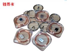 PVC圓形透明卡IC卡圓幣卡 各種直徑尺寸 RFID