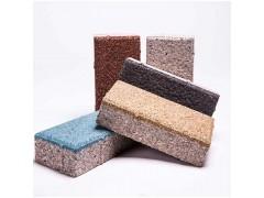 張家口陶瓷透水磚廠家直供城市道路用磚