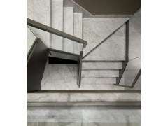 石材樓梯旋轉階梯大理石別墅酒店復式踏步