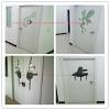 江承學校教室門卡通門彩色門烤漆門