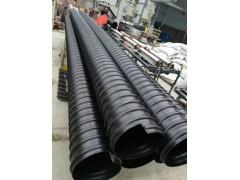 大口徑排污排水管 鋼帶增強管 pe材質管材
