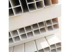 長期生產UPVC材質穿線管 白色方管 格柵管