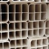 長期生產直銷UPVC材質格柵管 柵格管 白色方管